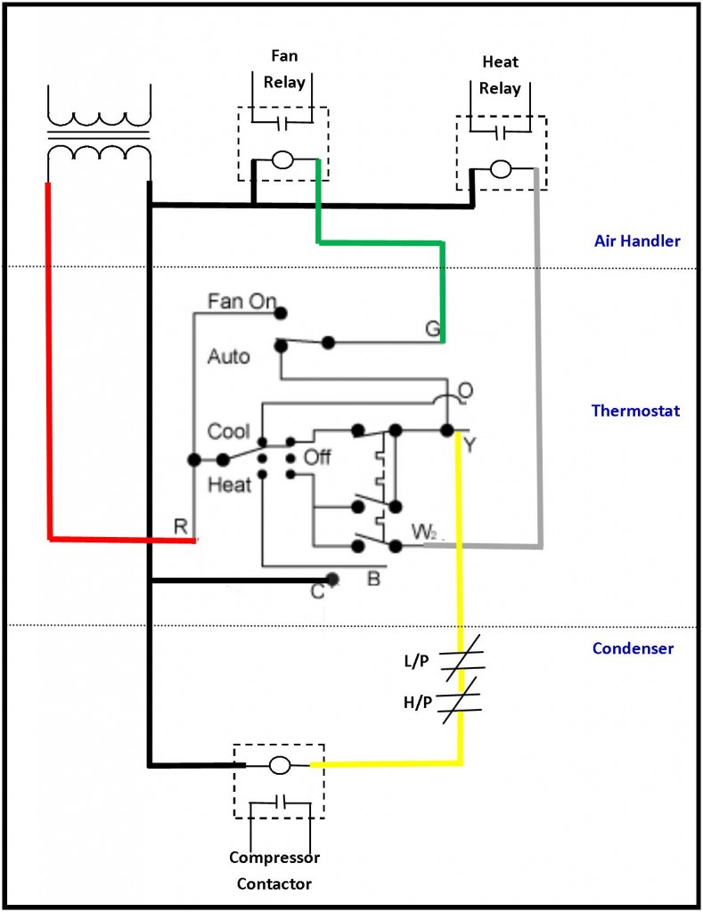 Hvac Control Wire : Wiring diagram for volt transformer get free image